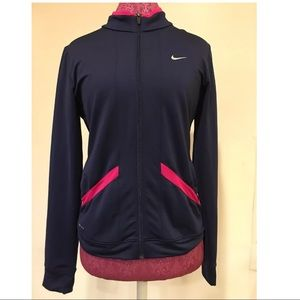 Nike Girls Jacket Extra Large Dri Fit Ladies Xs